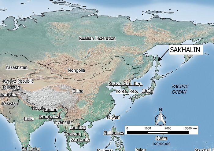 Sakhalin Location
