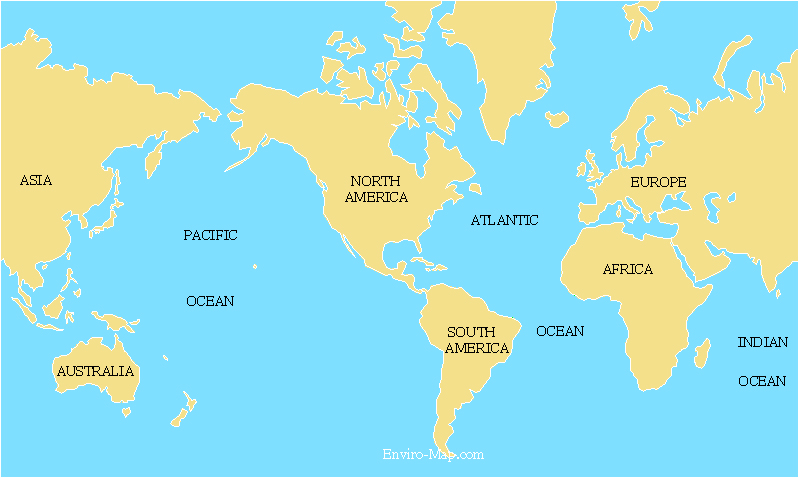 World map with country names and oceans 28 images 46 best images world gumiabroncs Gallery