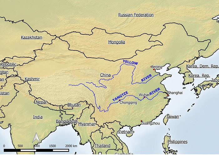 Rivers Map Of China.Index Of Wp Content Uploads 2009 10