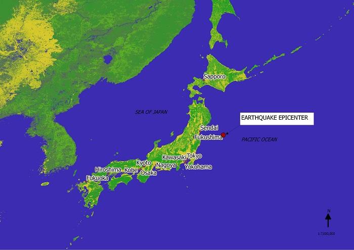 Japan Earthquake 2011 Epicenter